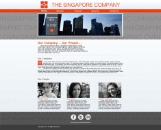 The Singapore Company About us Page