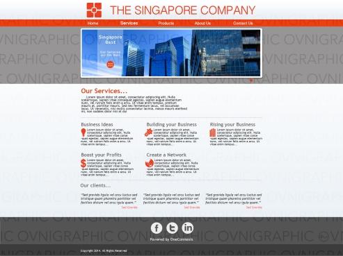 The Singapore Company Service Page